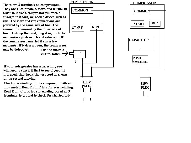 kenmore pressor start relay diagram  kenmore  free engine
